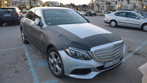 2015 Mercedes C-Class plug-in hybrid spy photo