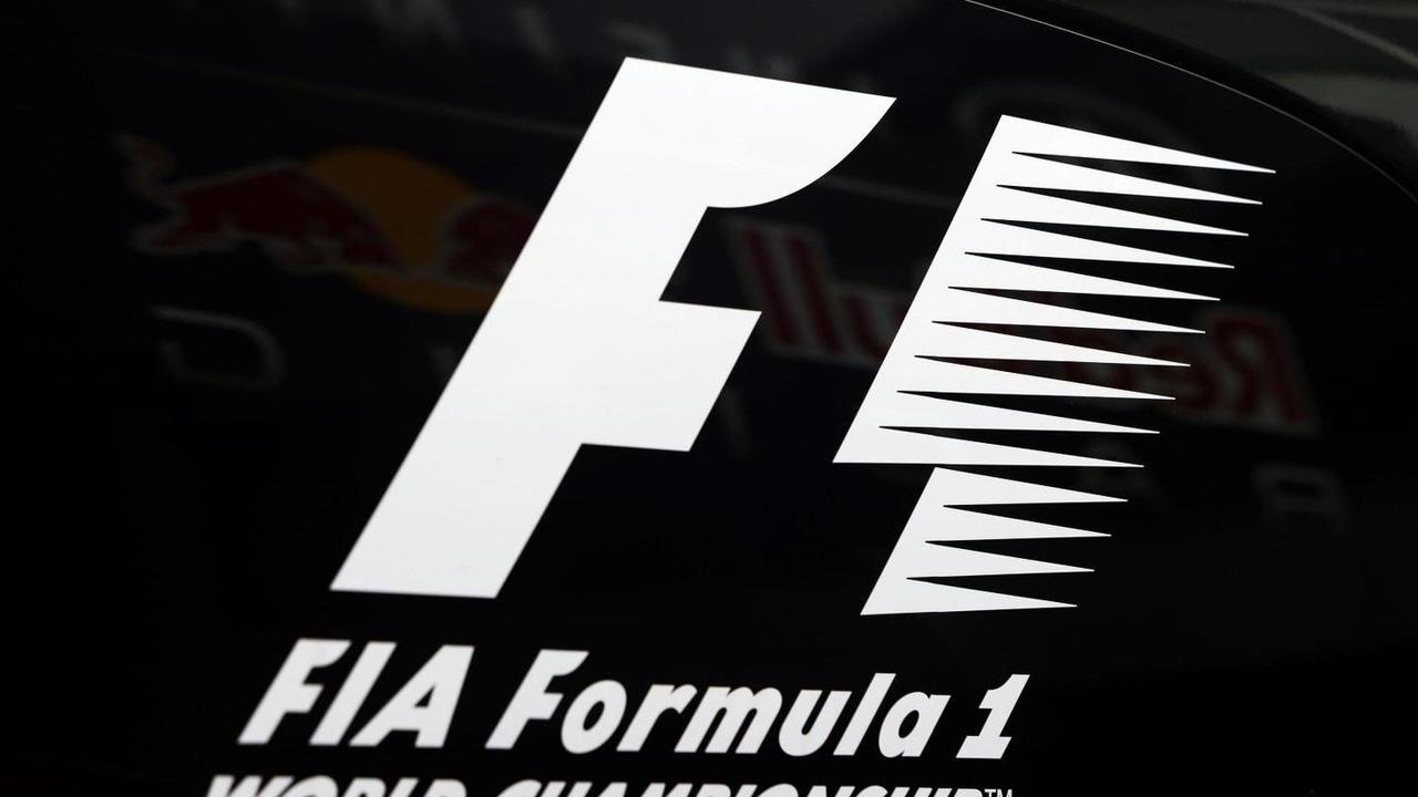 F1 Logo 05.07.2013 German Grand Prix,