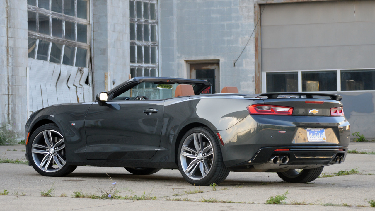 chevy camaro ss convertible review