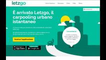 Letzgo, car pooling urbano istantaneo