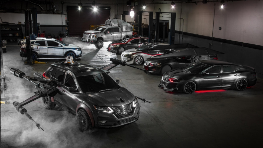 Nissan e le concept ispirate a Star Wars