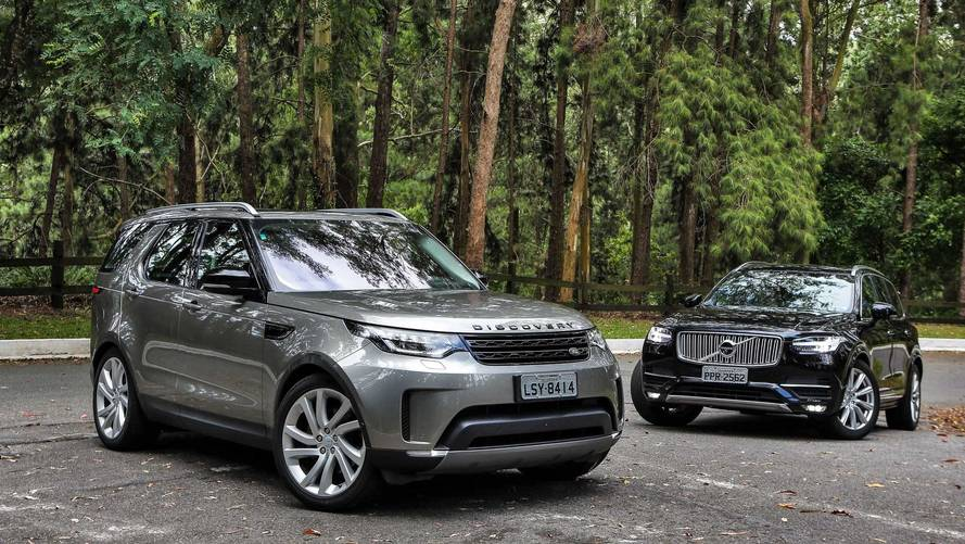 Comparativo Land Rover Discovery TD6 x Volvo XC90 D5 - Guerra dos tronos