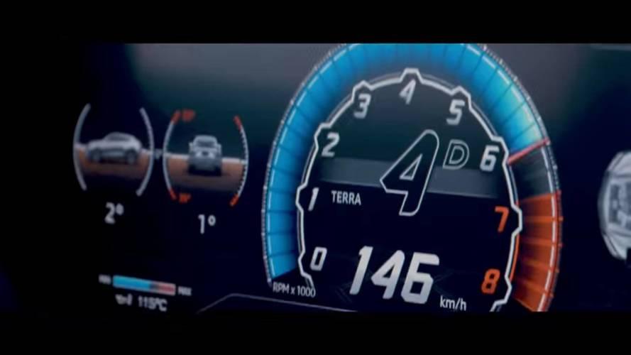 Lamborghini Urus Shows Digital Instrument Cluster In New Teaser