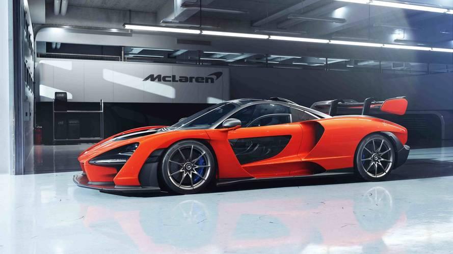McLaren Senna'ya bir de yakından bakın