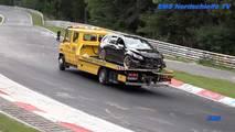 Nürburgring Wrecked Cars