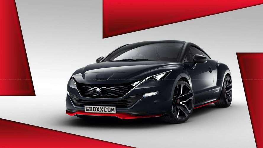 Yeni Peugeot RCZ geliştirilseydi nasıl görünürdü?