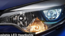 2014 Toyota Corolla LED headlights
