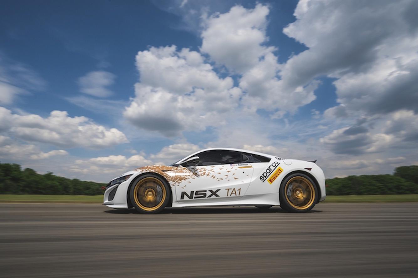 Acura NSX Looks To Dominate At Pikes Peak