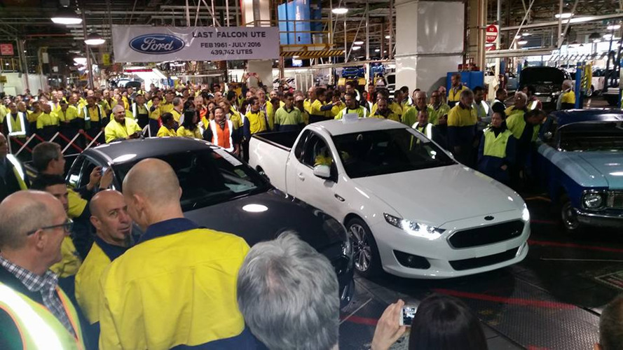 Last Ford Falcon Ute rolls down production line