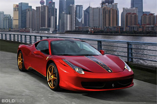 Most Popular: 2012 Ferrari 458 Italia 20th Anniversary China Edition