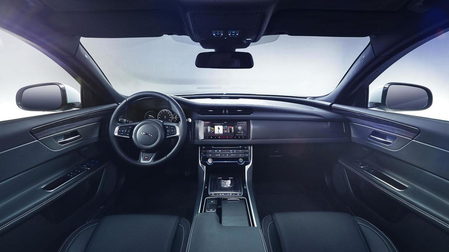 2016 Jaguar XF interior revealed, debuts March 24th