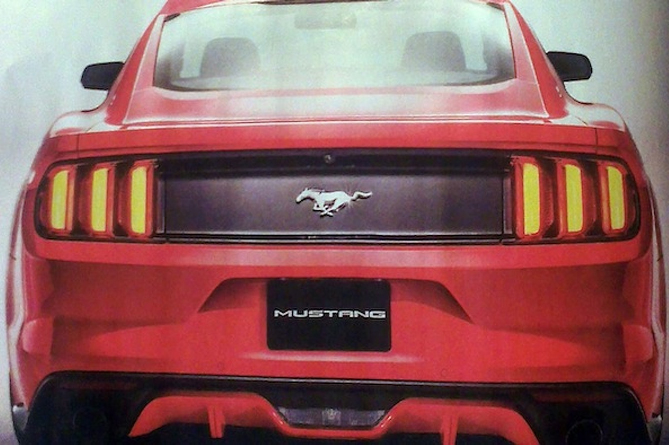 2015 Ford Mustang Hits the Web