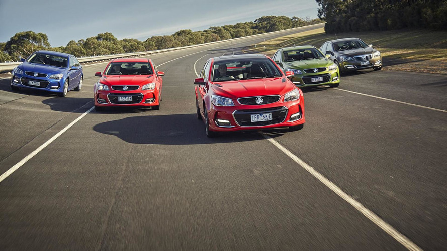 Holden Commodore VFII revealed with 413 PS V8 6.2-liter LS3 engine