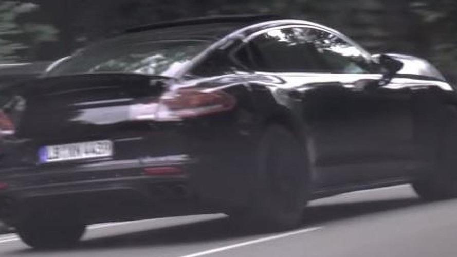 New Porsche Panamera spy video shows production lights
