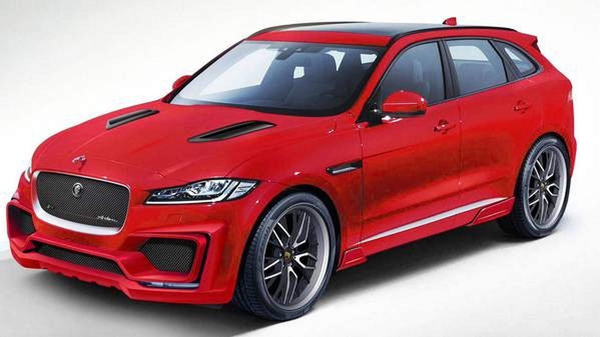 jaguar f pace aero kit by arden announced. Black Bedroom Furniture Sets. Home Design Ideas