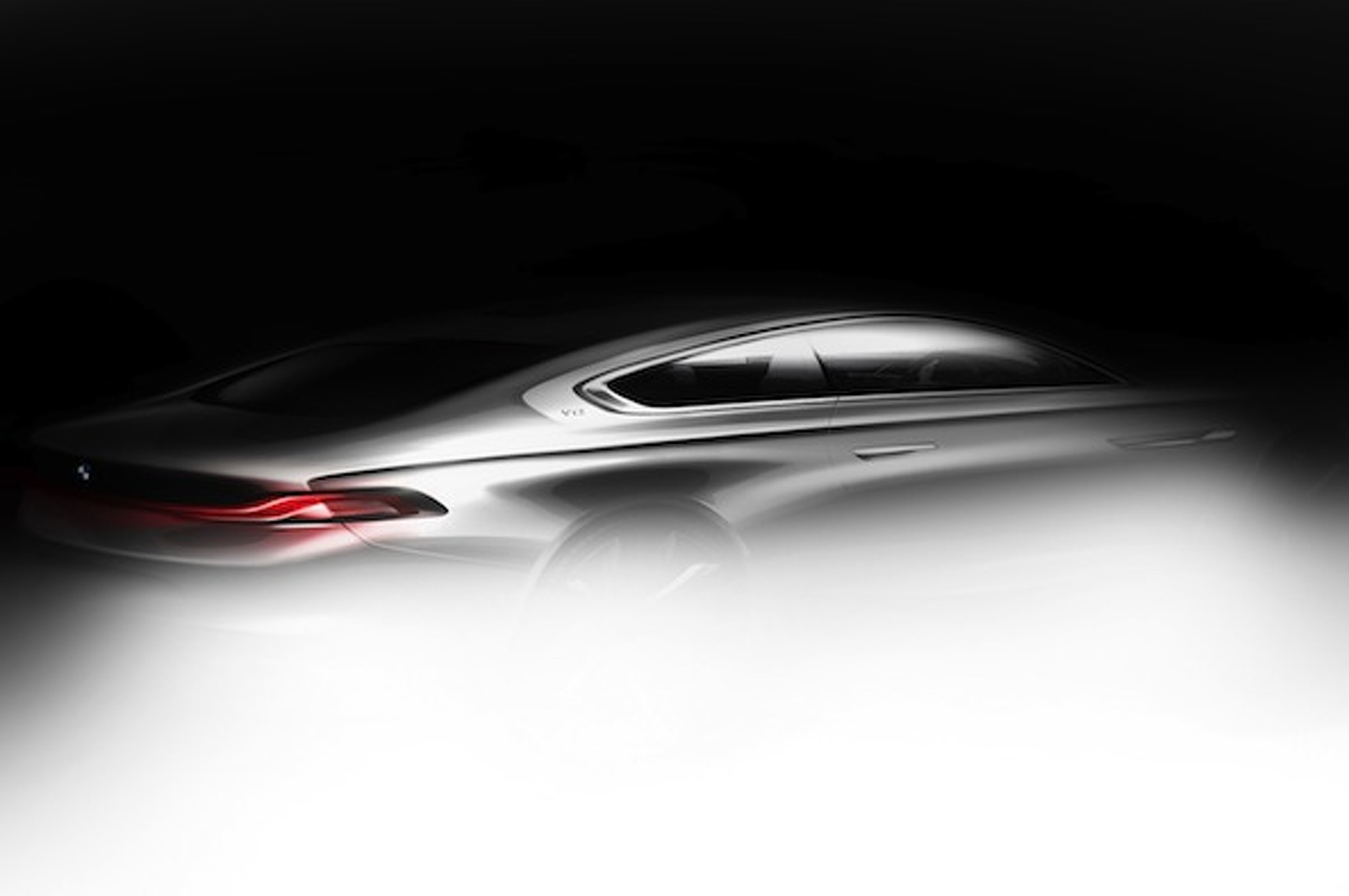 BMW and Pininfarina Tease Gran Lusso Coupe Concept