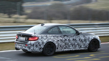 2016 BMW M2 Coupe spy photo