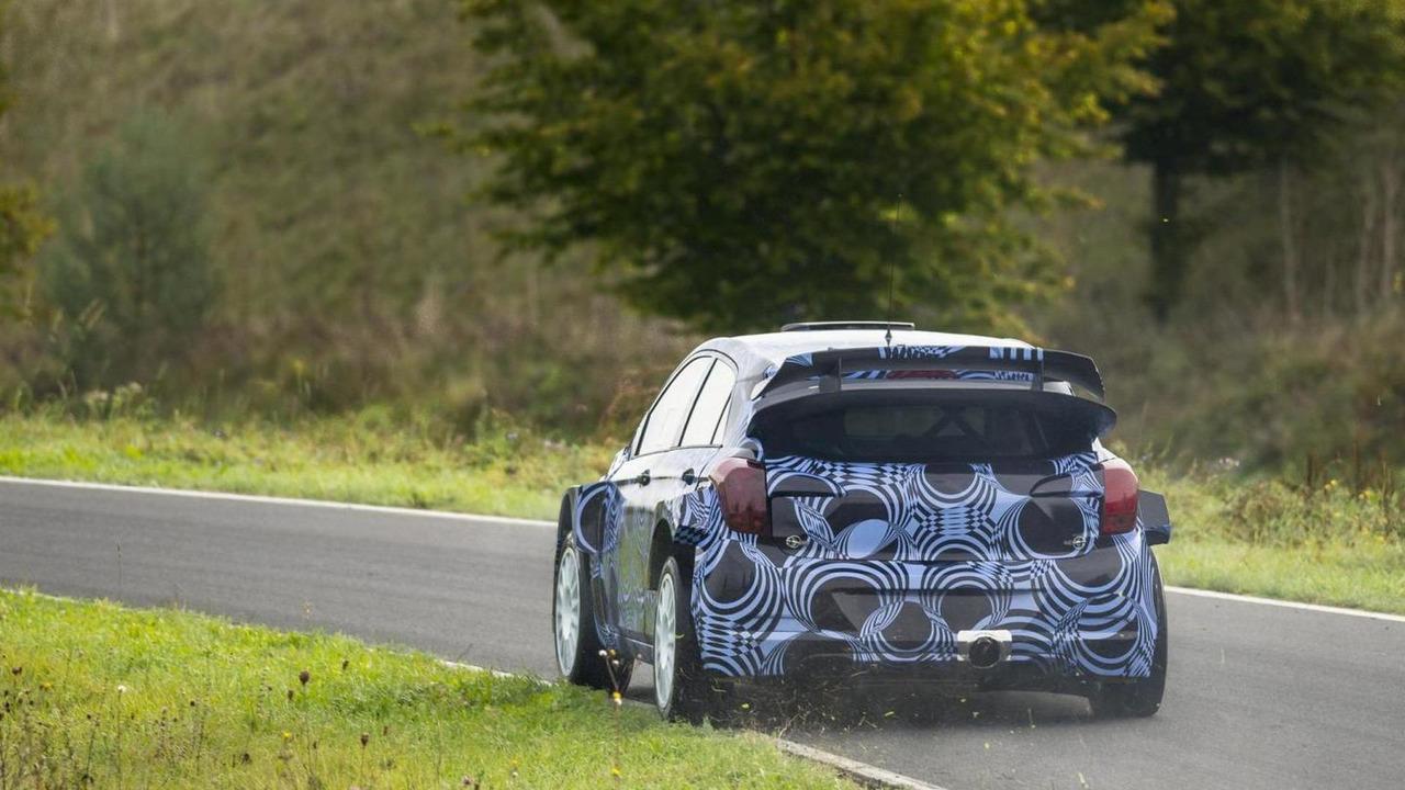 2015 Hyundai i20 WRC teased