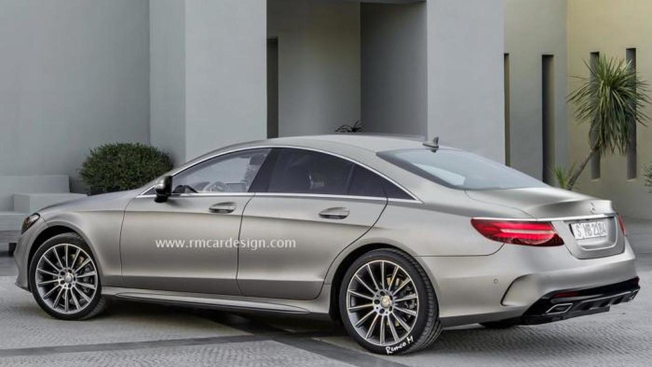 Third Generation Mercedes Benz Cls Speculatively Rendered