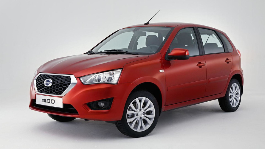 2015 Datsun mi-DO unveiled in Moscow