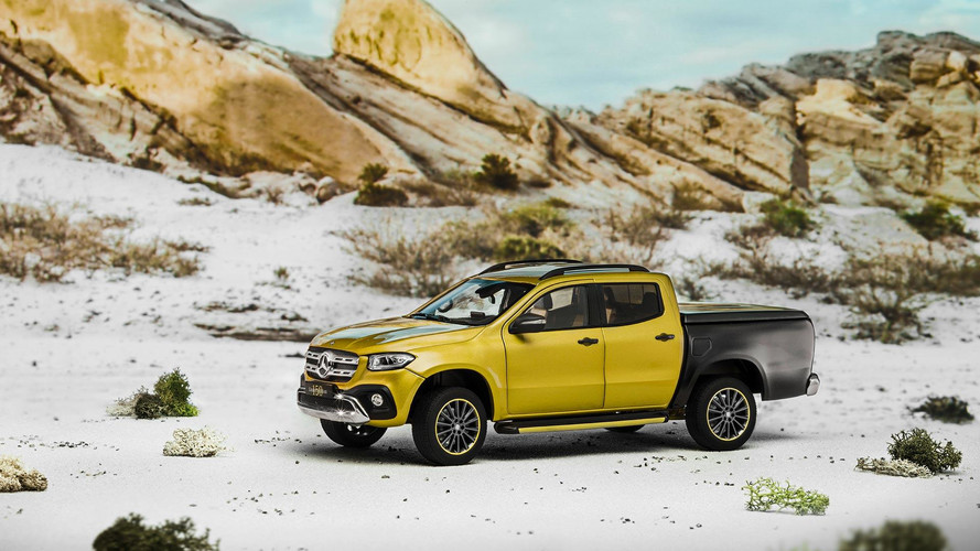 Get Dizzy With Mercedes X-Class Accessory Excitement At Frankfurt