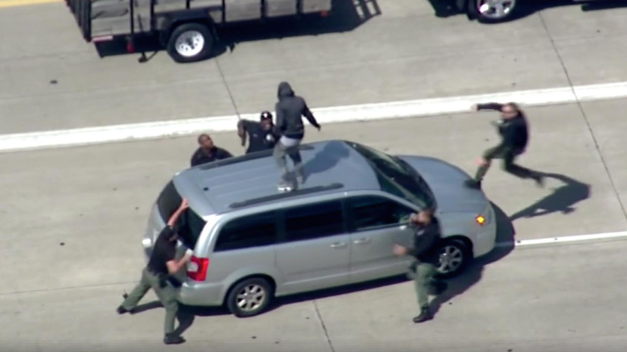 Watch This Crazy Car Chase And Arrest On The Streets Of Detroit