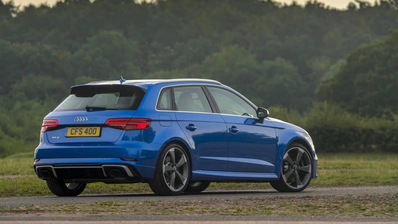 1. 2017 Audi RS 3 Sportback: 395bhp