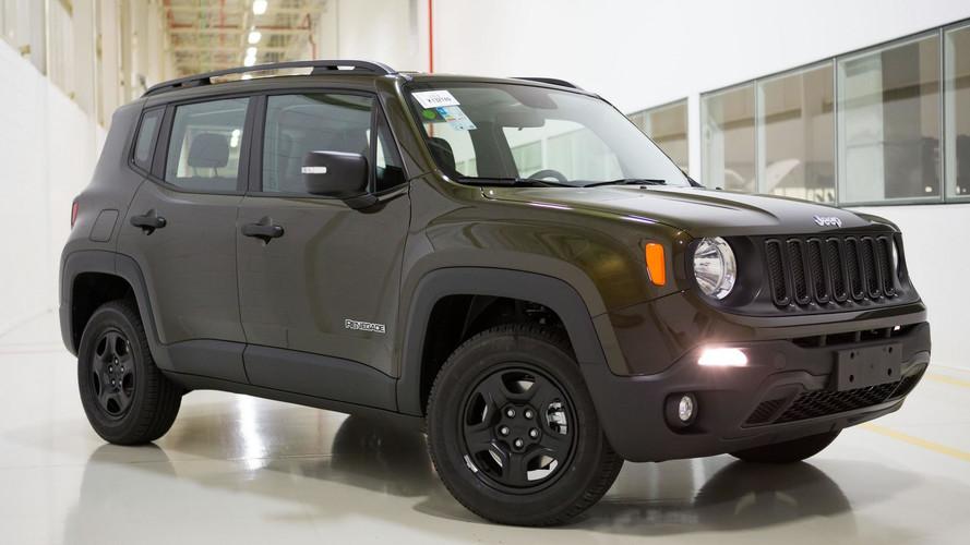 Jeep Renegade fica mais caro e chega a R$ 131.990