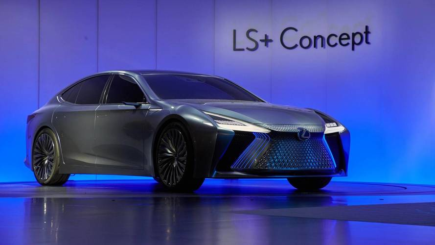 Lexus LS+ Concept Is A Tech-Heavy Flagship From The Future