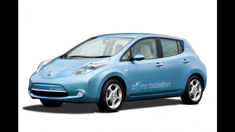 Nissan Leaf anche in Italia dalla fine del 2010