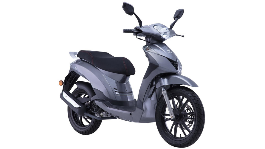 Daelim presenta su primer scooter de rueda alta, el S16 125