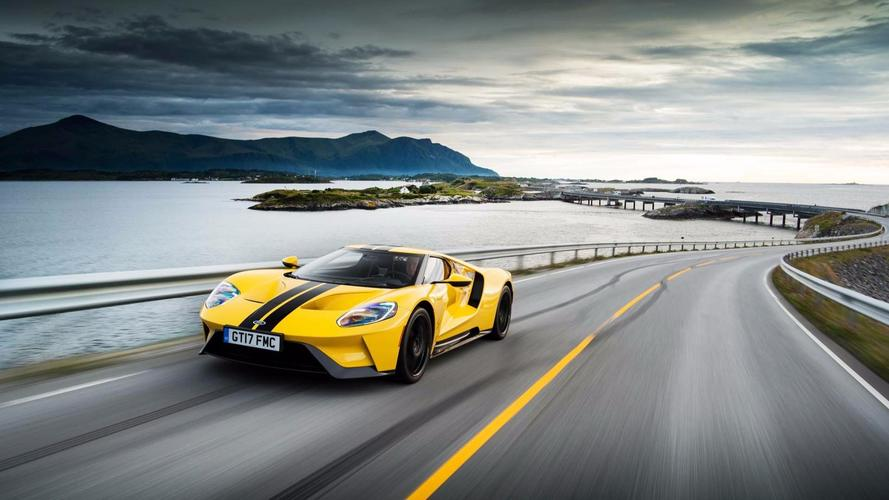 See This Ford GT Cruise Through Norway And Set A Lap Record