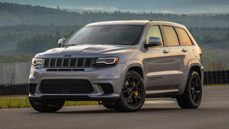 Track Hawk Grand Cherokee >> 2018 Jeep Grand Cherokee Trackhawk: First Drive | Motor1.com Photos