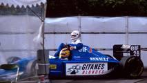 Suzuka 1993: Mark Blundell (Ligier) y Martin Brundle (Ligier)