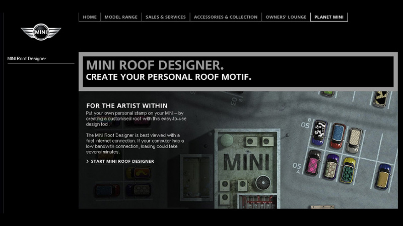 MINI Roof Designer