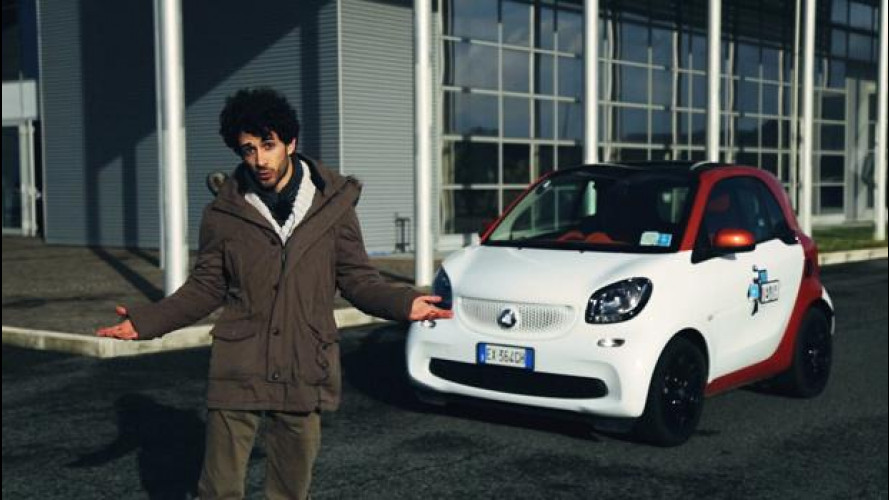 La smart fortwo secondo lo YouTester Mattia Varamo