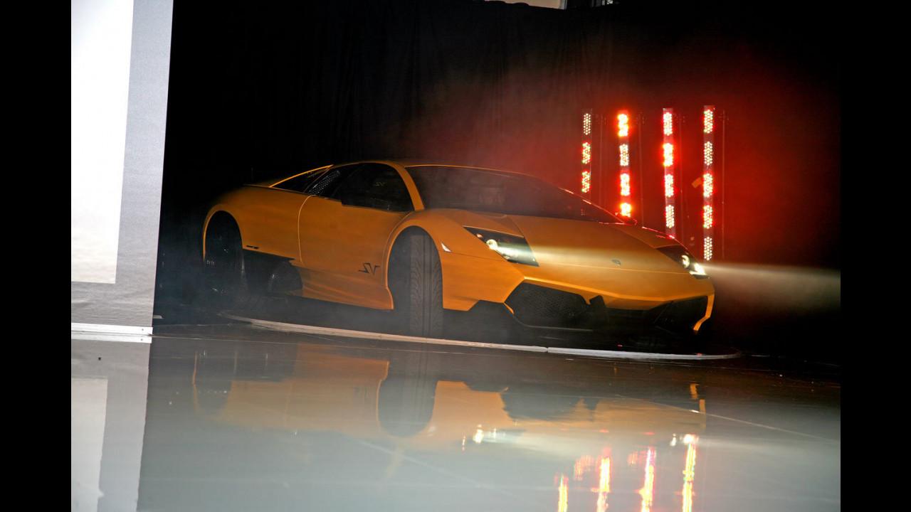 Presentazione Lamborghini Murciélago LP 670-4 SuperVeloce