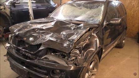 This BMW X5 Repair Is Like Watching A Magic Trick