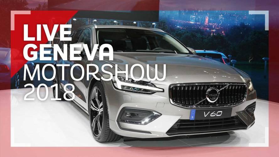Genève 2018 - La Volvo V60 en vidéo