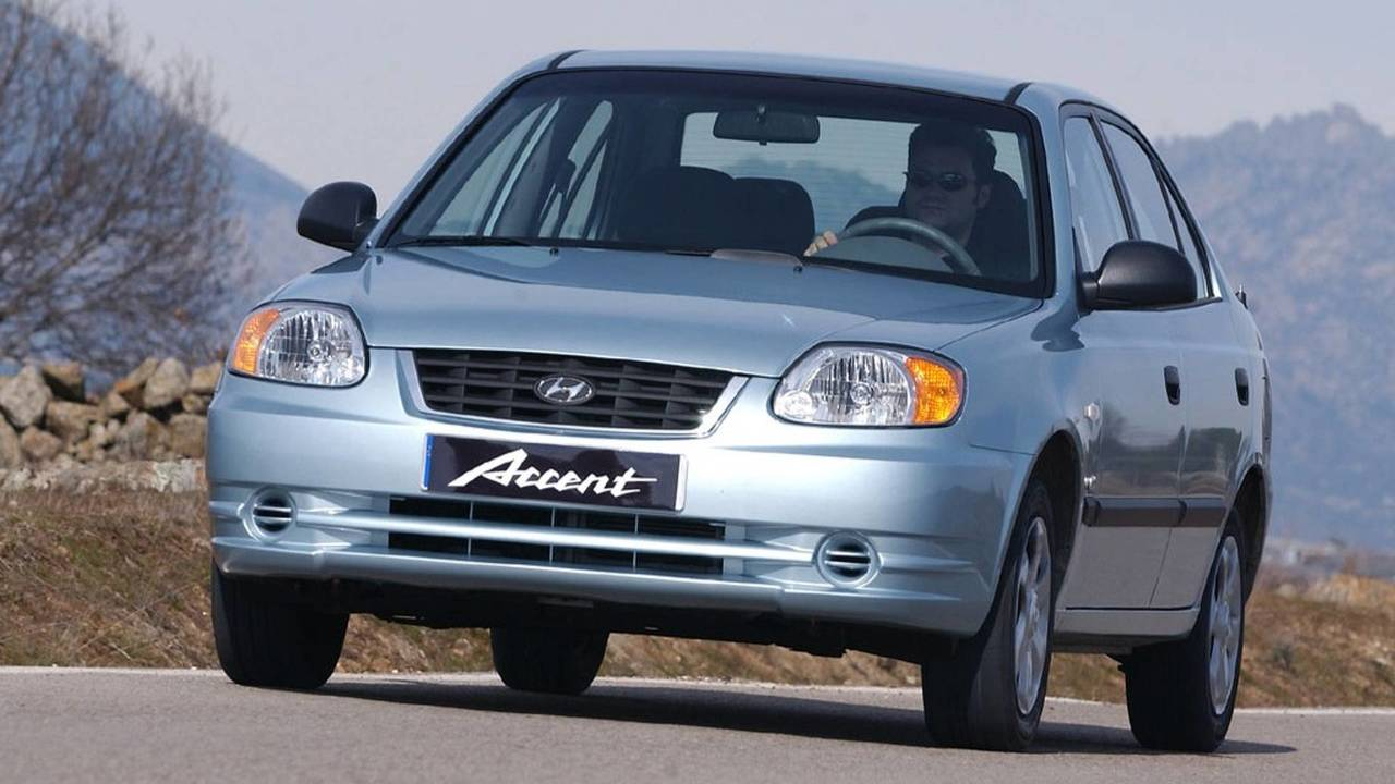 2003-2006 Hyundai Accent Sedan