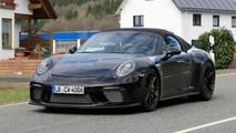 Porsche 911 Speedster Casus Fotoğrafları