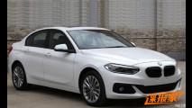 BMW Serie 1 Sedan, in rete le foto del modello definitivo