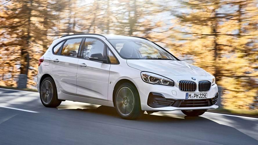 BMW revela Série 2 Active Tourer e Gran Tourer reestilizadas
