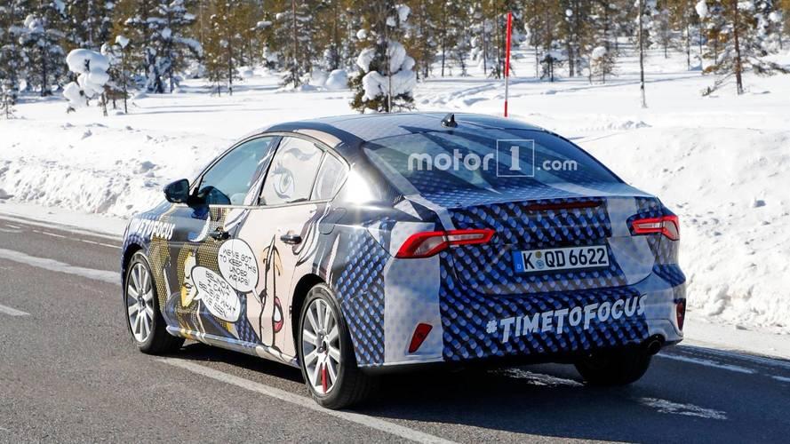 Ford Focus Sedan Spy Photos
