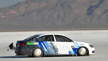 Volkswagen Jetta Hybrid land speed record 08.10.2012