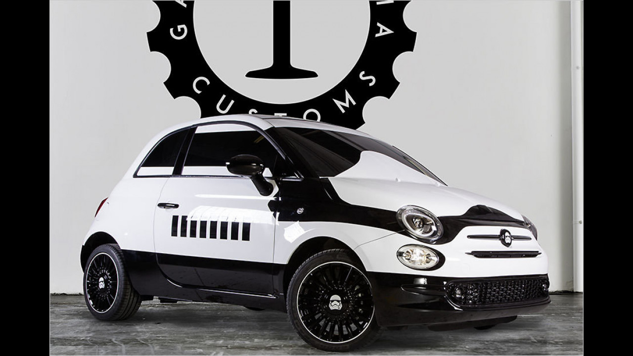 Intergalaktisch: Garage Italia Customs Fiat 500