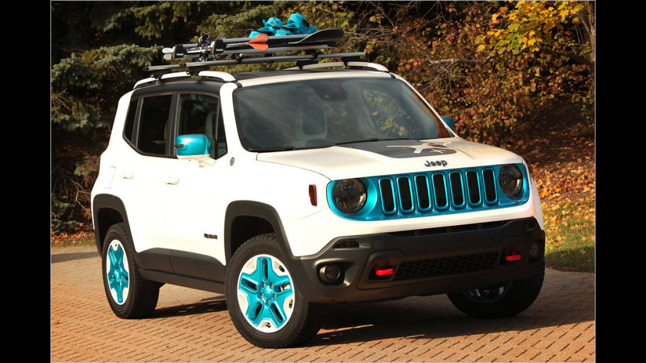 Jeep Renegade Frostbite