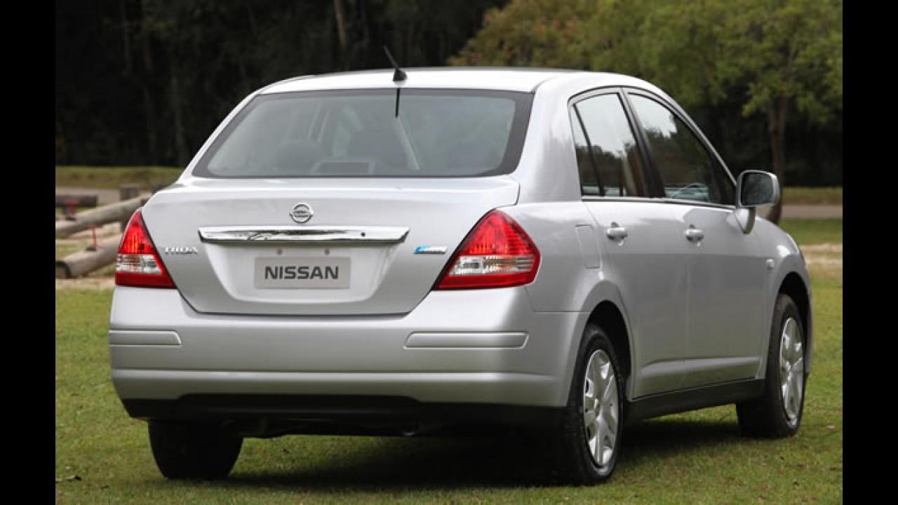 Opcional: Nissan passa oferecer airbag duplo para o Tiida Sedan por R$ 490