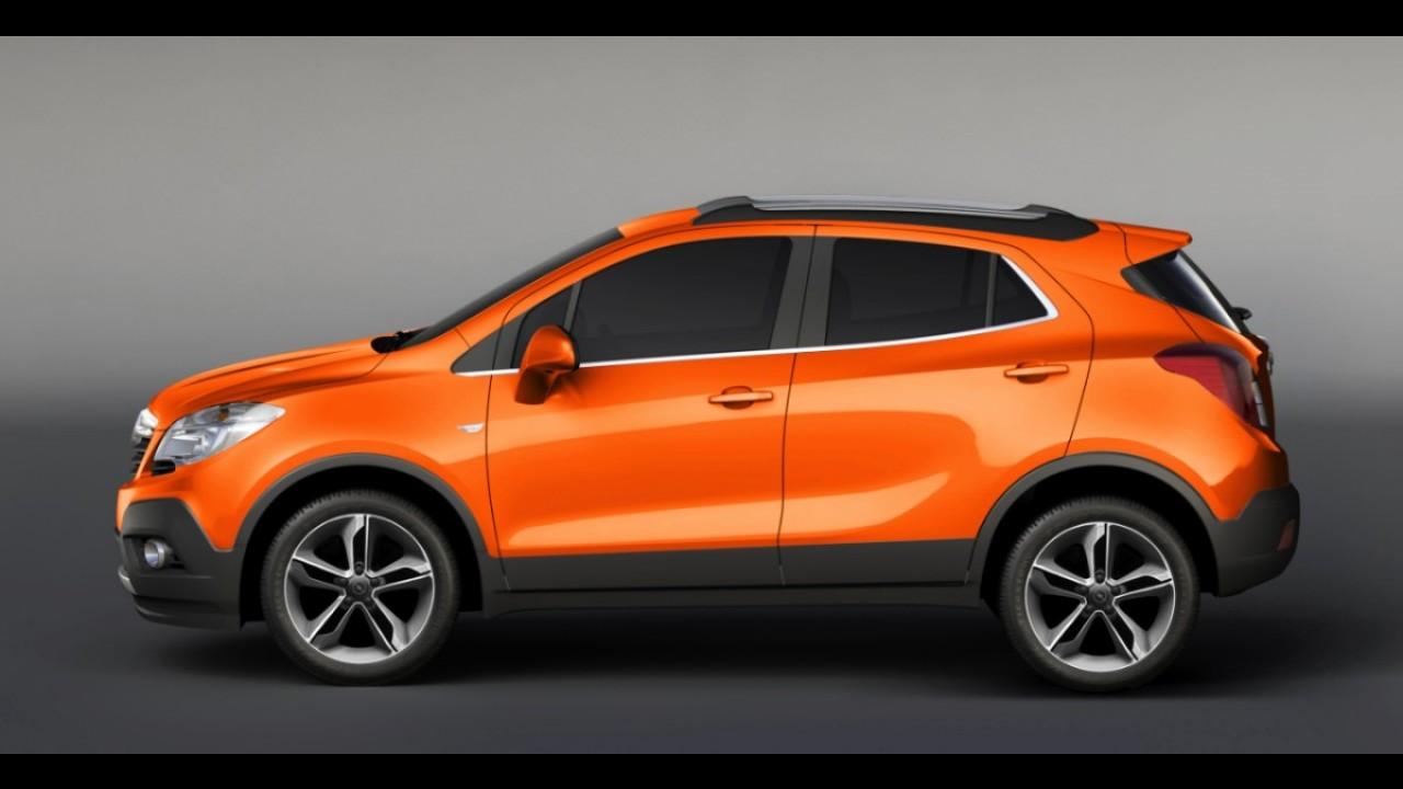 Opel Mokka já recebeu mais de 100 mil pedidos na Europa