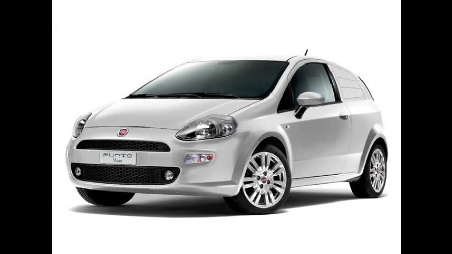 Fiat lança o Punto Van no Reino Unido